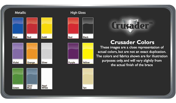 Crusader-Color-Chart